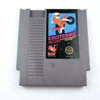 Nintendo NES ExciteBike 1985 Video Game Cartridge Pins Cleaned Tested