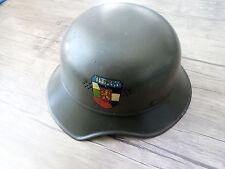 German Wehrmacht LUFTSCHUTZ GLADIATOR  Helmet WWII with Bulgarian Decal