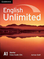 English Unlimited Starter Class Audio CDs (2) by Doff, Adrian (CD-Audio book, 20