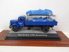 PREMIUM CLASSIXX. Mercedes Benz L 3500. Flatbed Truck. Blue. Ltd Ed.1:43.12459