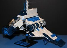 LEGO® brick STAR WARS™ Custom 8019 set 501st BLUE REPUBLIC ATTACK SHUTTLE™ +figs