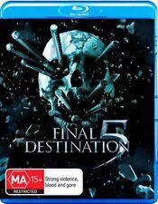 Final Destination 5 (Blu-ray, 2012) Region B  very good condition like new