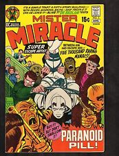 "Mister Miracle #3 ~J. Kirby Story, Cvr, & Art/""The Paranoid Pill!""~1974 (7.5) WH"