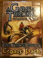 A GAME OF THRONES CCG: IRON THRONE EDITION: LEGACY PACK - SEALED