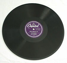 78 RPM Dick Shannon 15116 Capitol Record ~ Moonlight & Roses ~ For Me & My Gal