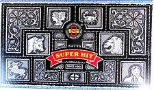 12 Pack Satya SUPERHIT Nag Champa je 15g (180g, 100g=7,71 €) Räucherstäbchen