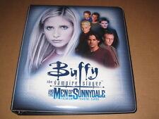 Buffy Men of Sunnydale Trading Card Binder Album