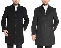 Kirkland Signature Mens Wool Cashmere Blend Overcoat Choose Size & Color