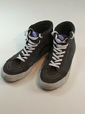 Vans Boot Runners Trainers Shoes UK10.5 Grey Skateboard Basketball