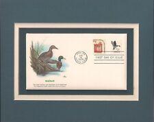 Mallard Ducks - Male & Female - Frameable Postage Stamp Art - 0426
