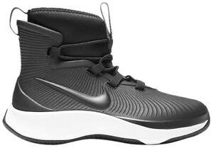 Nike Binzie PS Black-White Kids Rain Boots bq5381-002 Youth Size 13C