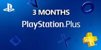 PSN 3 Month PlayStation PS Plus PS4-PS3 -Vita (6 X14)Days Accounts ( NO CODE )