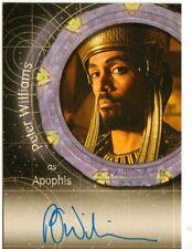 Stargate SG-1 Season 8 Auto Card A69 Peter Williams as Apophis