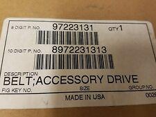 New Original Equip Data Serpentine Drive Belt 97223131 Genuine GM Original NOS