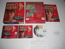PEOPLE'S GENERAL PC CD ROM ORIGINALE BIG BOX VERSIONE Post veloce