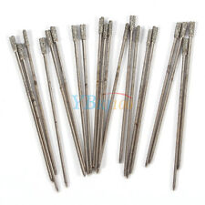 Diamond Tipped Drill Bit Kit Set For Glass Tile Stone Jewelry Ceramic Silver