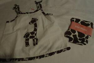Gymboree Safari Fashion Size 4 Bike Shorts 4T Top Outfit NWT
