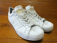 adidas Originals Court Vantage White Leather  Casuals Trainers UK 10 EU 44.5