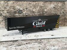 Herpa Auflieger Kofferauflieger Giraf Beer