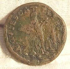 More details for irish-american 1663-78 st. patrick farthing, rare coin in good condition. k65