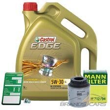MANN-FILTER ÖLFILTER+5L CASTROL EDGE FLUID 5W-30 LL SKODA YETI 5L 1.2 1.4 TSI