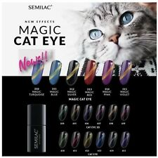 Semilac UV Hybrid Nail Gel Polish - New Effects Magic Cat Eye, Cat Eye 3D