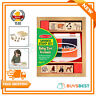 Melissa & Doug Baby Zoo Animals Wooden Stamp Set 8 Stamps And 4 Color Stamp Pad