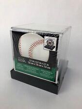 Clear Baseball Display Case W/Black Base by Studio Decor * Fast Free Shipping!