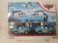DISNEY PIXAR CARS 2019 DINOCO DAYDREAM BLUE DINOCO MIA AND DINOCO TIA 2 PACK NEW