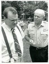 CARROLL O'CONNOR PRUITT TAYLOR VINCE IN THE HEAT OF THE NIGHT 1990 NBC TV PHOTO