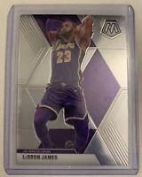 LeBron James 2019-20 Panini Mosaic Base #8 Los Angeles Lakers
