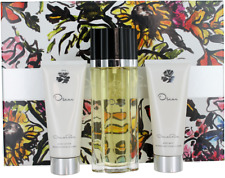 Oscar de la Renta For Women Set: EDT + Body lotion + Shower Gel New