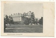 School for the Blind LANSING MI Vintage Michigan Postcard