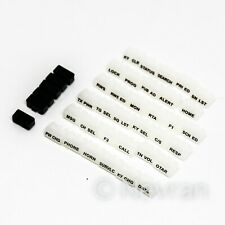 EF Johnson Mobile 5300ES Replacement Key Buttons 587535751602 34 White Buttons
