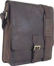UNICORN Bolsa de cuero genuino - iPad, Tablet accesorios Bolsa - Marrón #2F