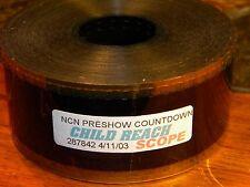 "35mm Film Movie Trailer NCN Pre Show Countdown ""Child Reach"" Scope"