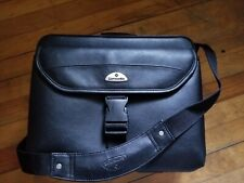 Samsonite Leather Carry On Laptop Business Bag USED