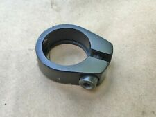 """BMX bicycle seat clamp 25.4mm (1"""") - BLACK ANODIZED ALLOY"""