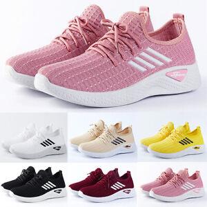 Damen Sneaker Sportschuhe Laufschuhe Freizeit Schuhe Turnschuhe Atmungsak Leicht