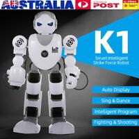 K1 Intelligent Fight Robot For Kids' Toy Remote Control Singing Dancing Robot MV
