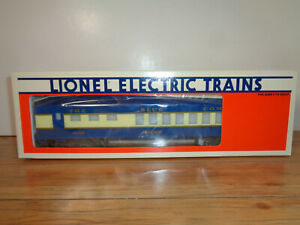 """LIONEL O GAUGE # 6-19000 BLUE COMET """"GIACOBINI"""" DINING CAR - NEW IN BOX"""