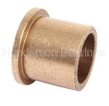 AL162216 Oil Filled Sintered Bronze Bush - Flanged 16x22x16mm