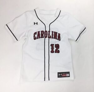 Under Armour Women's South Carolina Gamecocks Softball Jersey Sz. S NEW #12