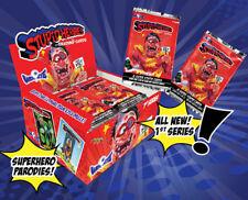 Stupid Heroes Trading Cards S2 - Hobby Box - Joe Simko - Wax Eye - 24 packs