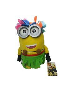 Despicable Me 3 Plush Toy Hawaiian Hula Minion. VGC with Tags