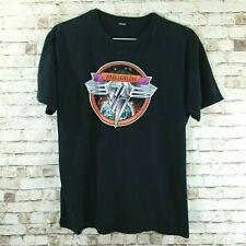 Van Halen 2007 2008 Concert Tour T-shirt Men's Size L Black Double Sided