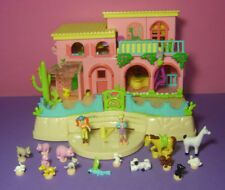 Polly Pocket Mini ♥  Magnet Tier Farm ♥ Pet Land Hacienda ♥ 17 Figuren ♥ 2000 ♥