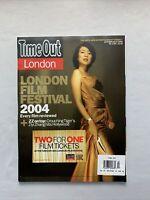 Time Out London Magazine Oct 2004 - Ziyi Zhang, Radha Mitchell
