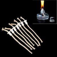 7 Ceramic Holders for Tiki torch Wine bottle oil lamp W/ COTTON Kerosene Wick HM