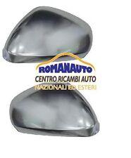 * COPPIA CALOTTE Cromate Satinate ALFA ROMEO 159 2005 in poi Specchi Retrovisori